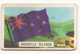 IMAGE CHEWING GUM JOHNNY COW BOY MANAR GUM ALGERIE  SERIE 67 - 2 NOUVELLE ZELANDE DANS L ETAT - Vieux Papiers