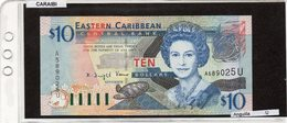 "Banconota "" Anguilla"" 10 Dollars - Caraibi Orientale"