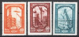 Russia 1956 Unif. 1826/28 **/MNH VF - Nuovi