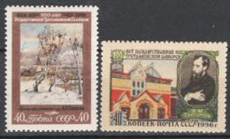 Russia 1956 Unif. 1823/24 **/MNH VF - 1923-1991 USSR