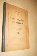 RARE Ancien Ouvrage D'Horlogerie,1940,A.Dessay,cours De Réglage,262 Pages,24 Cm. Sur 16 Cm.Complet - Matériel
