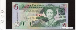"Banconota ""Dominica"" 5 Dollars - Caraïbes Orientales"
