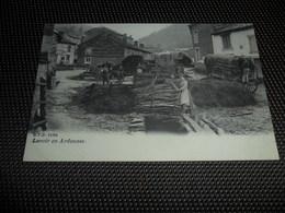 Ardennes Lavoir - Charrette Publicitaire Chenneaux Noël , Commissionnaire Province De Namur   D.V.D. 11694 - België