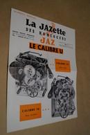 RARE Ancien Catalogue D'Horlogerie,La Jazette,Jaz,N° Spécial,originale,complet 27 Cm. Sur 21 Cm. - Alarm Clocks