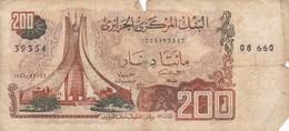200 DINARS 1983 - Algérie