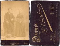 Photo Couple  .Photographie F. Chardonnet - LYON - VICHY . (110714) - Photos