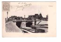 62 Calais Pont Richelieu Cpa Cachet 1903 - Calais