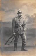 GUERRE 14 18    SOLDAT ALLEMAND  CARTE PHOTO - Guerra 1914-18
