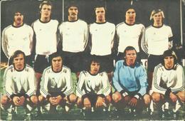 Football -- Eintracht Frankfurt (Allemagne De L'Ouest)     (2 Scans) - Football