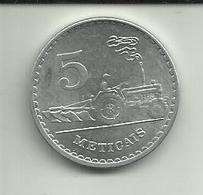 5 Meticáis 1986 Moçambique - Mozambique