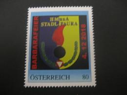 Österreich- Pers.BM 8128943** Stadl Paura Barbarafeier In Der HMunA, Ausgabetag 04.12.18 - Österreich