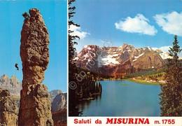 Cartolina Misurina 2 Vedute - Trento