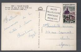 Vallée D'Aure (65 Hautes Pyrénées) Cachet DAGUIN Bien Frappé (PPP16385) - Marcophilie (Lettres)