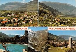 Cartolina Prato Allo Stelvio 5 Vedute - Bolzano