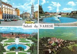 Cartolina Varese 4 Vedute - Varese