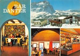 Cartolina Dantercepies Passo Gardena Bar Danter 4 Vedute - Bolzano
