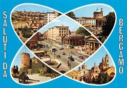 Cartolina Bergamo 5 Vedute - Bergamo