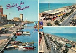 Cartolina Pescara 3 Vedute 1970 - Pescara
