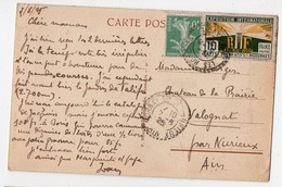 Chamonix (74 Haute Savoie)  Cp Avec Timbre EXPO  ARTS DECORATIFS 10C (PPP16386) - 1921-1960: Periodo Moderno