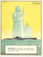 BATEAU - SOUS MARIN PASTEUR - Par PAUL IGERT - Warships