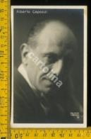 Personaggio Attore Attrice Musica Teatro Cinema Alberto Capozzi - Artisti