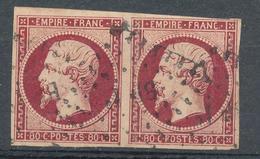 N°17 PAIRE - 1853-1860 Napoleon III