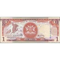 TWN - TRINIDAD & TOBAGO 46Aa - 1 Dollar 2006 (2014) Prefix PQ - Signature: Rambarran UNC - Trindad & Tobago