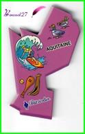 Magnet PETIT ÉCOLIER Les Régions De France - L' AQUITAINE - Magnets