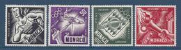 Monaco Poste Aérienne - PA YT N° 51 à 54 - Neuf Sans Charnière - 1953 - Poste Aérienne