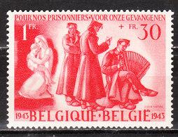 623**  Timbre émis Au Profit Des Prisonniers - Bonne Valeur - MNH** - LOOK!!!! - Belgien