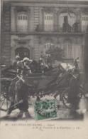 Evènement - Histoire - Président De La République - Militaria Cuirassiers  Calèche Attelage - Le Havre 1909 - Recepciones