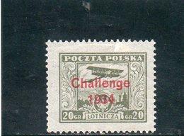 POLOGNE 1934 * - 1919-1939 Republic