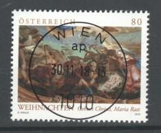 """Österreich 2018: """"Weihnachten - Sakral"""" Gestempelt (siehe Foto/Scan) - 1945-.... 2. Republik"""