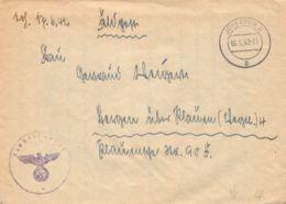 Feldpost Jüterbog 2 1942 Mit Korrespondenz - Dokumente