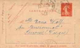 Kartenbrief 1912 - Ganzsachen