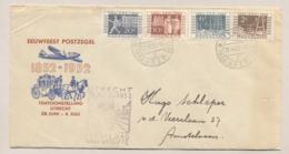 Nederland - 1952 - ITEP Tentoonstellings Serie - Eerste Dag Cover Van Utrecht/Itep Naar Amstelveen - Periode 1949-1980 (Juliana)