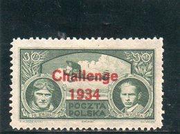 POLOGNE 1934 * 2 SCAN - 1919-1939 Republic