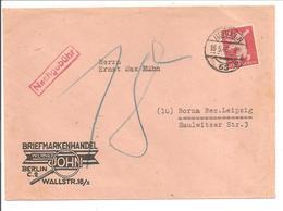 Berlin Mi5 E.F. NACHGEBÜHR  16.5.46 - Zone Soviétique