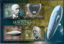 Aviation - Zeppelin - Aircraft - Space - Solomon Islands 2014 -  FD - Islas Salomón (1978-...)