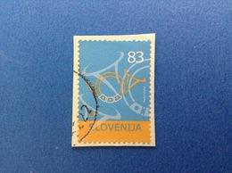 2005 SLOVENIA SLOVENIJA FRANCOBOLLO USATO STAMP USED ORDINARIO 83 - Slovenia