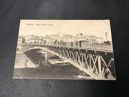 988 - TARANTO Ponte Girevole Chiuso - 1919 Poste Et Tresor 605 - Taranto