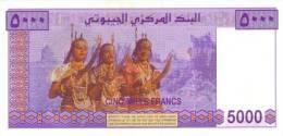 DJIBOUTI P. 44 5000 F 2002 UNC - Dschibuti