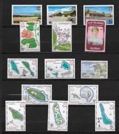 KIRIBATI LOT De  19 TIMBRES NEUFS *  TBE, BEAUX TIMBRES AVEC CHARNIERE AU DOS - Kiribati (1979-...)