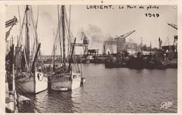56. LORIENT. LE PORT DE PÈCHE.  . ANNEE 1949 - Lorient