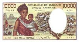 DJIBOUTI P. 39a 10000 F 1984 UNC - Djibouti