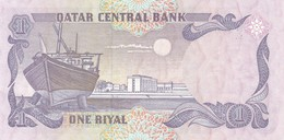 QATAR Central Bank ONE RIYAL BANKNOTES / NEUF - Qatar