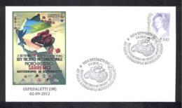 4.- ITALY ITALIA 2012. SPECIAL POSTMARK. MOTORBIKES. RACING. SANREMO - Motos