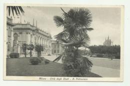 MILANO - CITTA' DEGLI STUDI - R.POLITECNICO - VIAGGIATA  FP - Milano