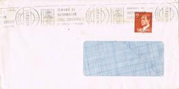 30867. Carta MADRID 1983. Rodillo Especial Informacion Sobre Subnormales - 1981-90 Cartas