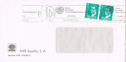 30868. Carta MADRID 1981. Rodillo Especial Nuevas Metas De La Humanidad - 1981-90 Cartas